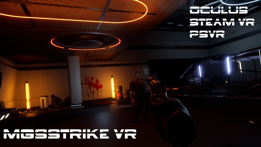 Project image for MGSStrike PC & PSVR long Campaign Zombie Game.
