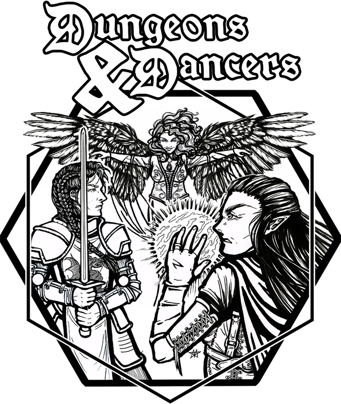 Dungeons & Dancers: An Epic Belly Dance Adventure! by The