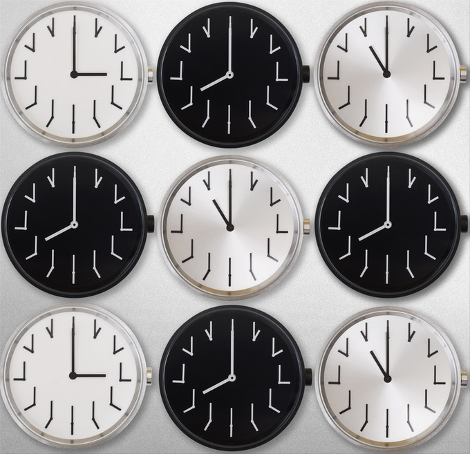 Redundant Watch: Time two times, it says time twice  by
