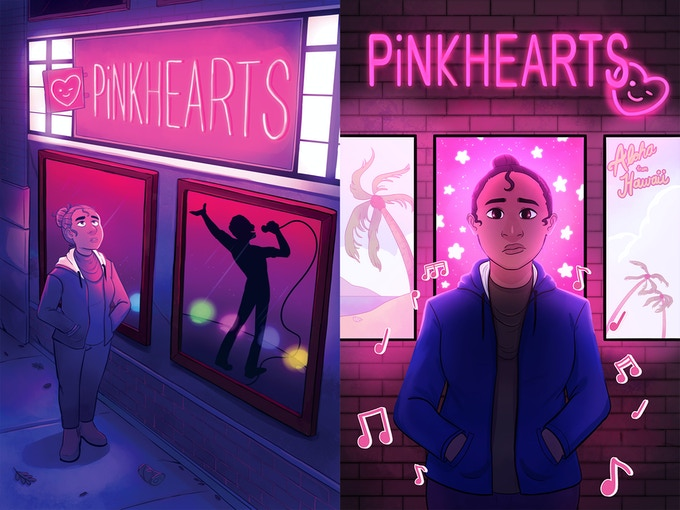 Special prints of PiNKHEARTS and Kai!