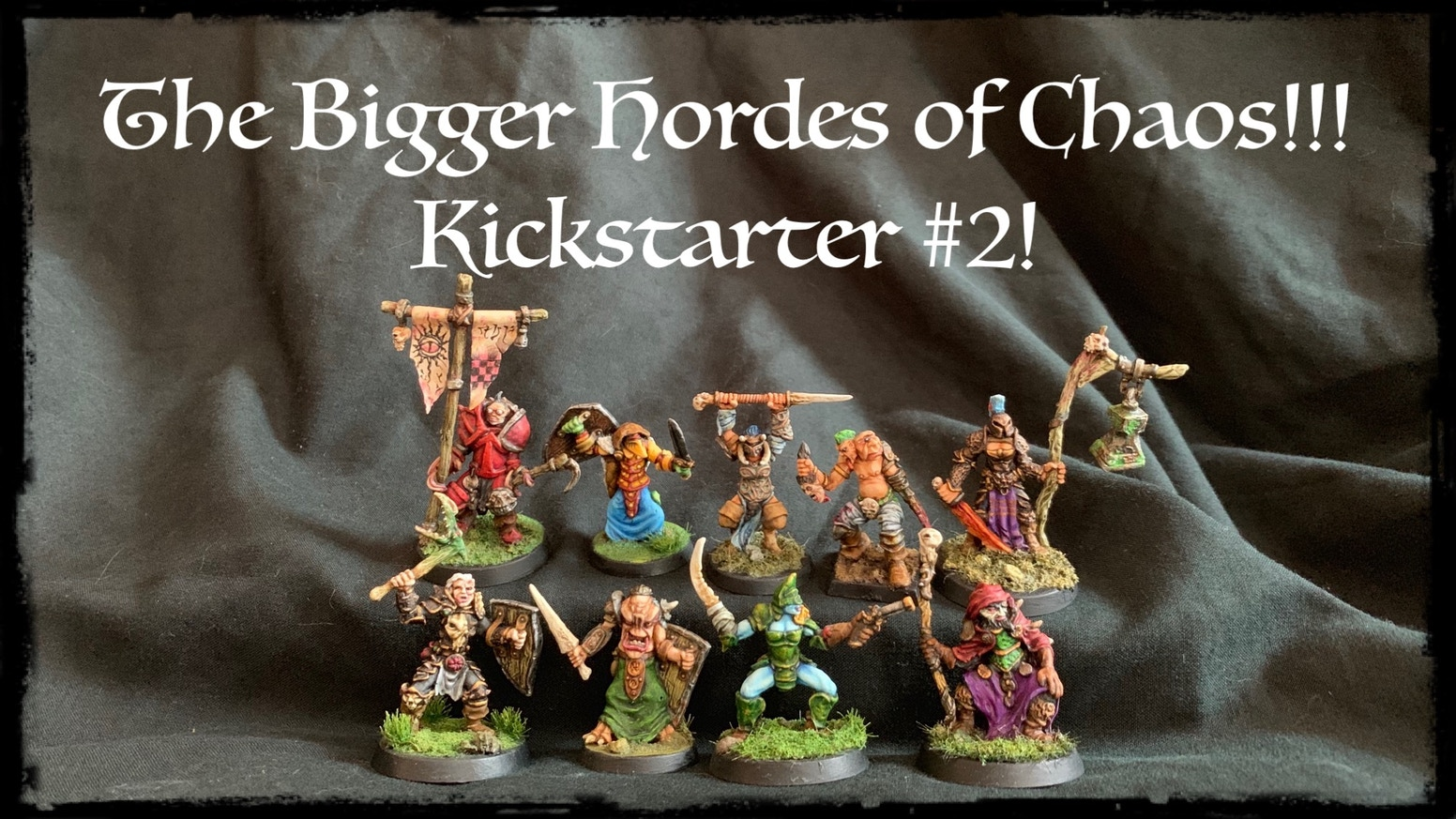 More Chaos Champions! A bigger selection of 28mm Oldhammer style white metal miniatures for tabletop gaming , painting and collecting.
