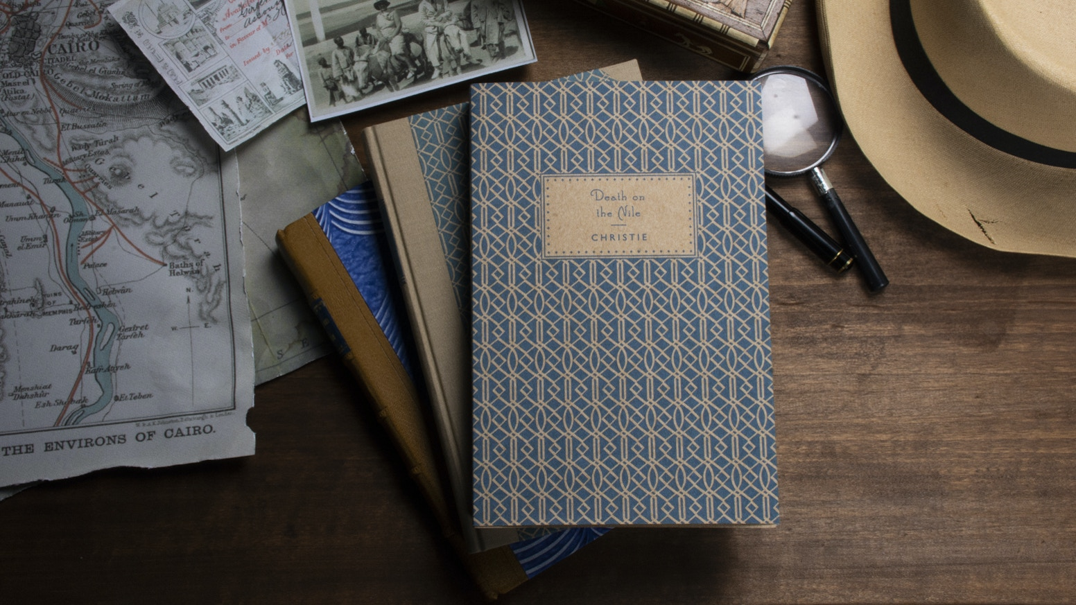 Letterpress printed and hand bound book celebrating one of Agatha Christie's most loved mysteries.