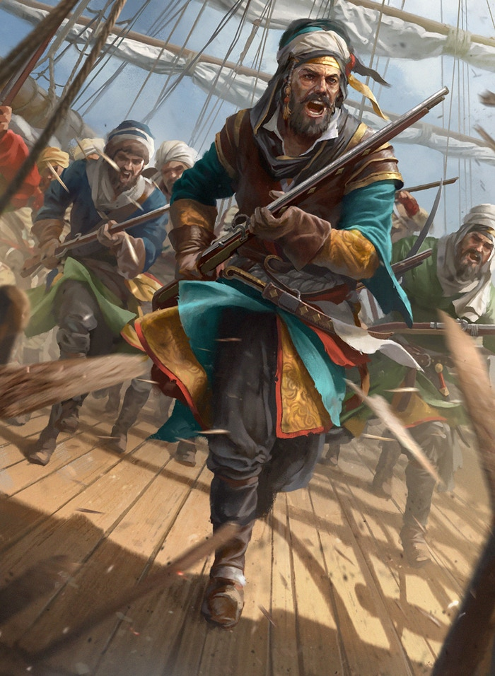 Turgut's Corsairs are not to be messed with...