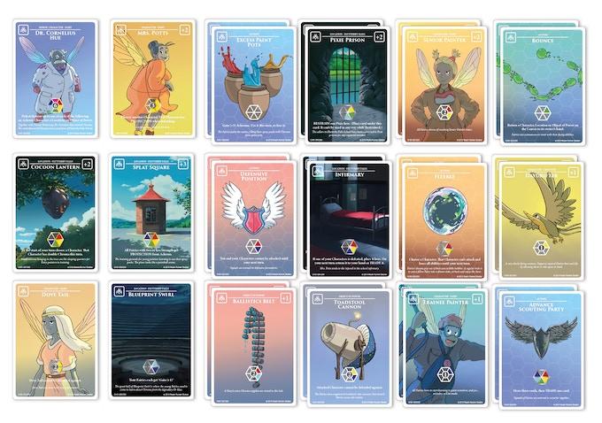 30 card Starter Chroma Palette: Flutterby Falls Fairies