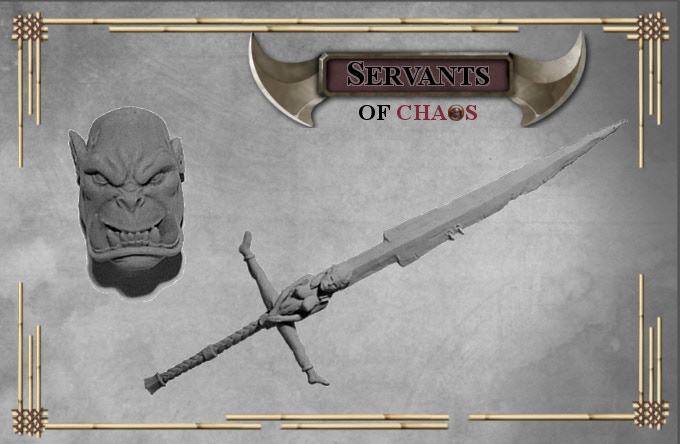 When funding reaches 4500€ Grimthoras extra head + Extra sword will be unlocked as free stretch goal for each pledge over 50€ containing Grimthoras (without shipping)