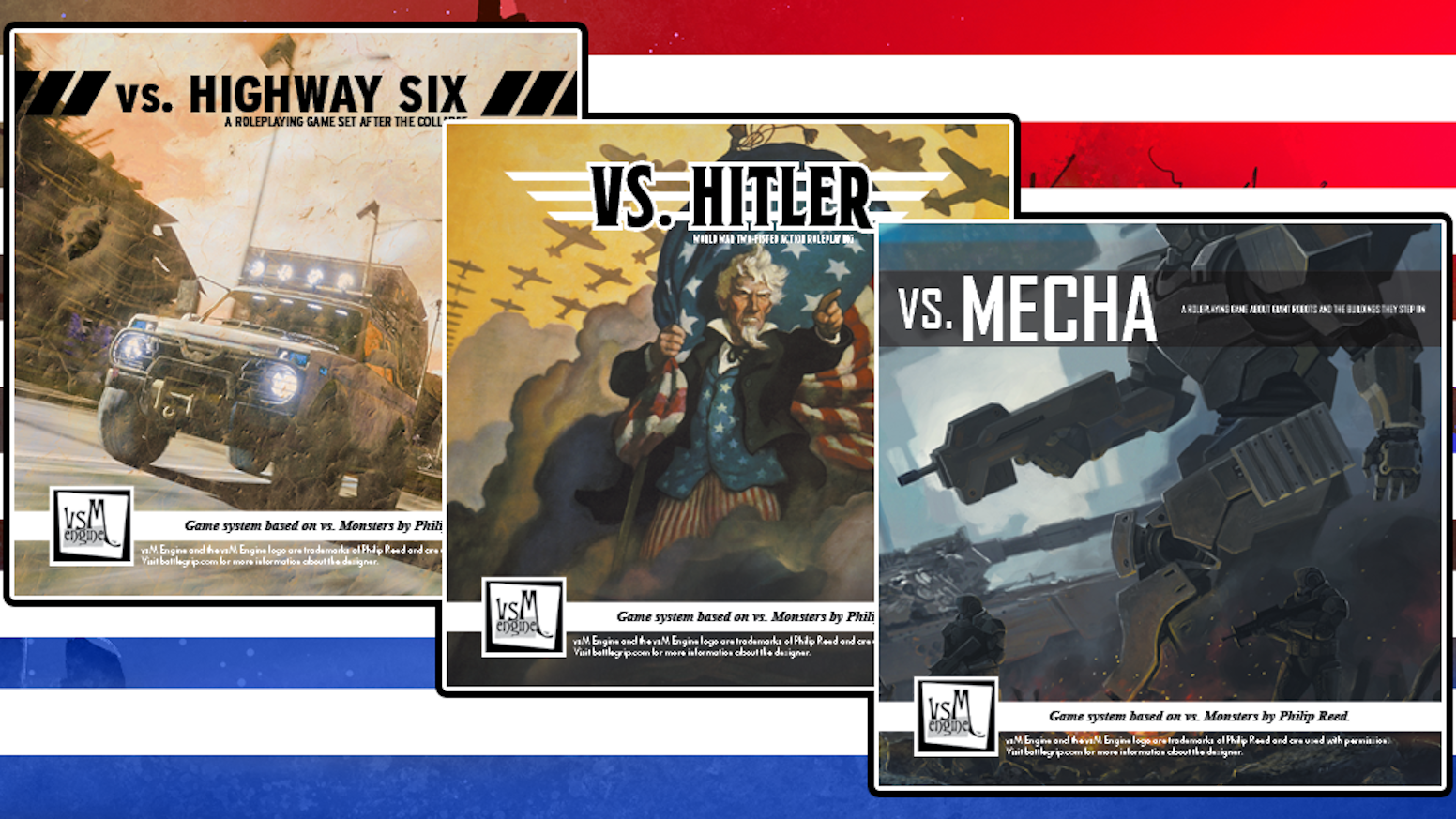 Vs Kickstarter 2 More Small Roleplaying Games By Thomas