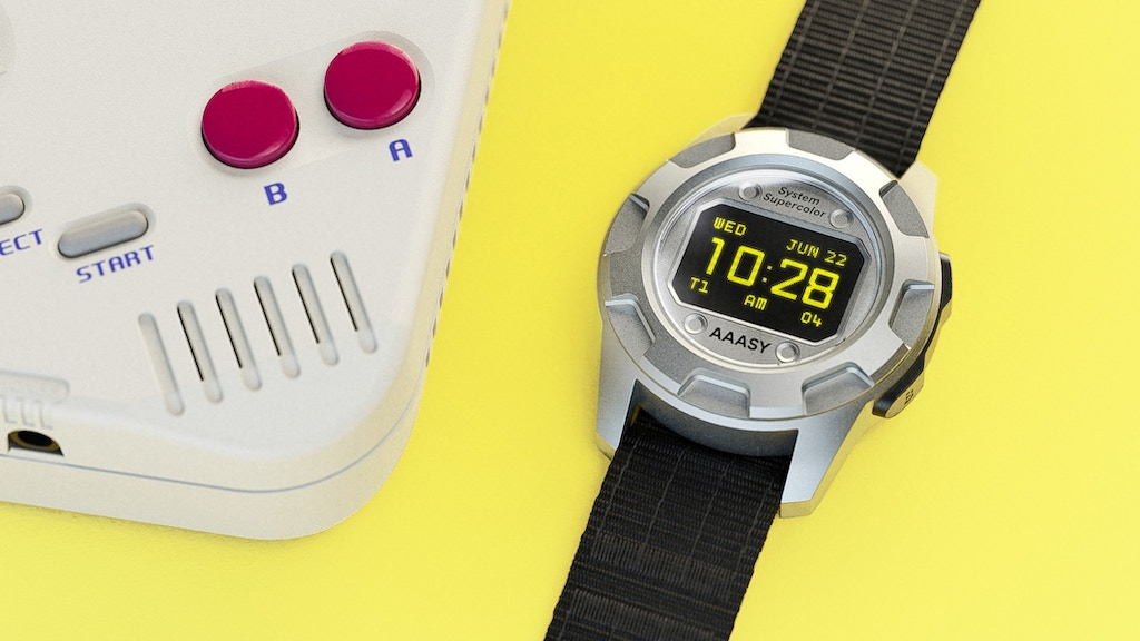 AAASY Supercolor - 90s Retro Watches With A Twist! project video thumbnail