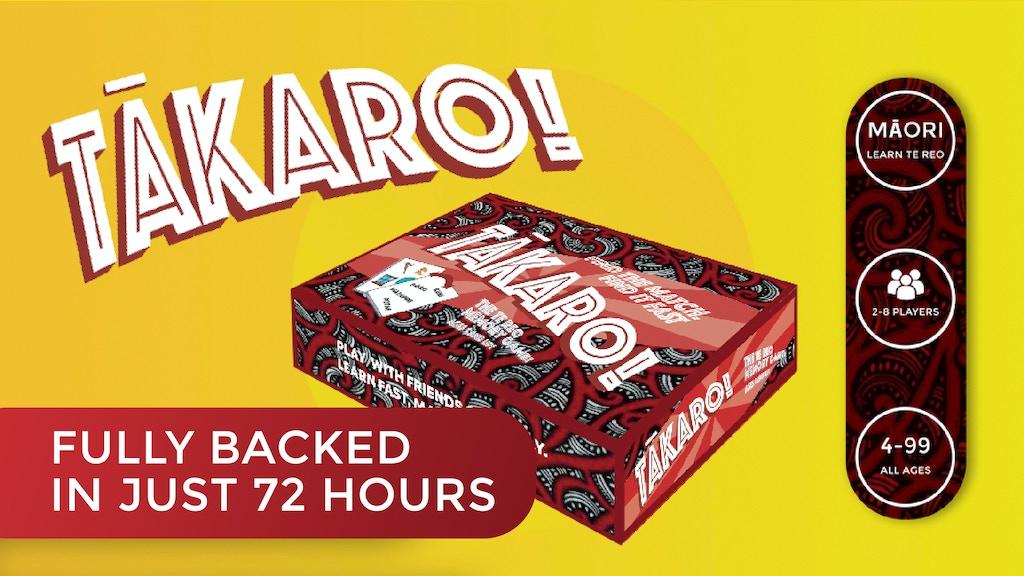 Tākaro - A te Reo Māori Language game project video thumbnail