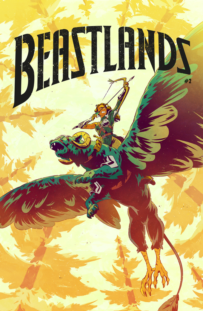 Beastlands #2 Variant Cover 2B