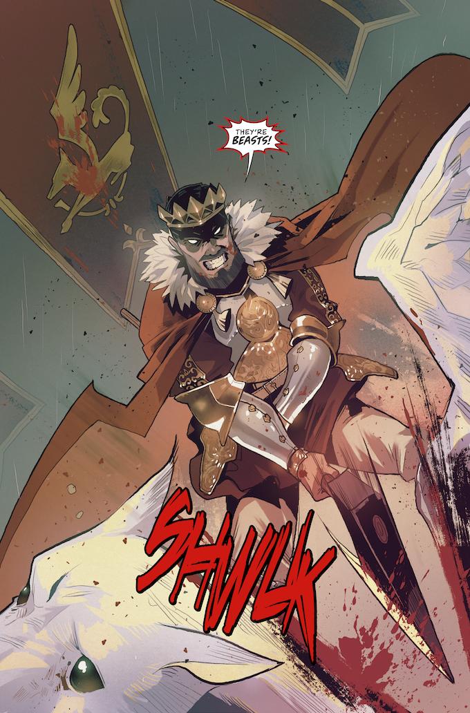 Beastlands #1, Page 2
