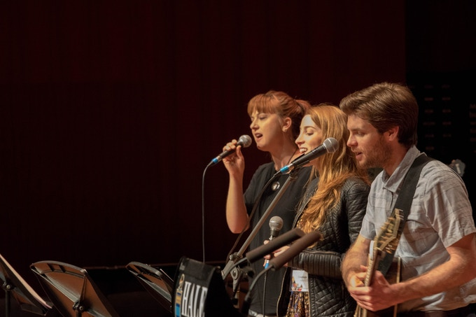 Exalt Band at the Exalt Music Ministry Conference
