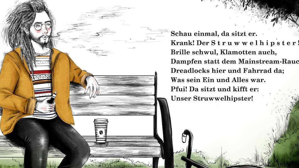 Project image for Der Struwwelhipster - Eine upgedatete Version des Klassikers