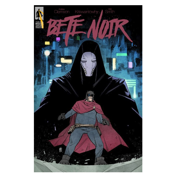 Bete Noir #1 Cover A by Kris Wantowhy