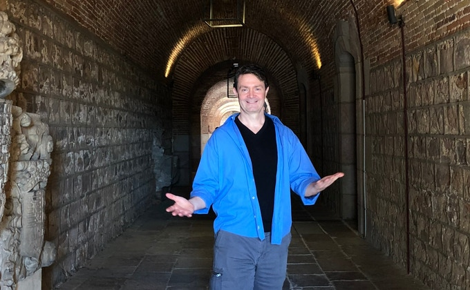 Mark Gavagan, author, streaker & kickstarter