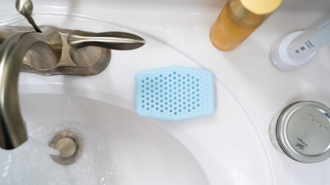 Anti-bacterial silicone dries quickly to eliminate germs.