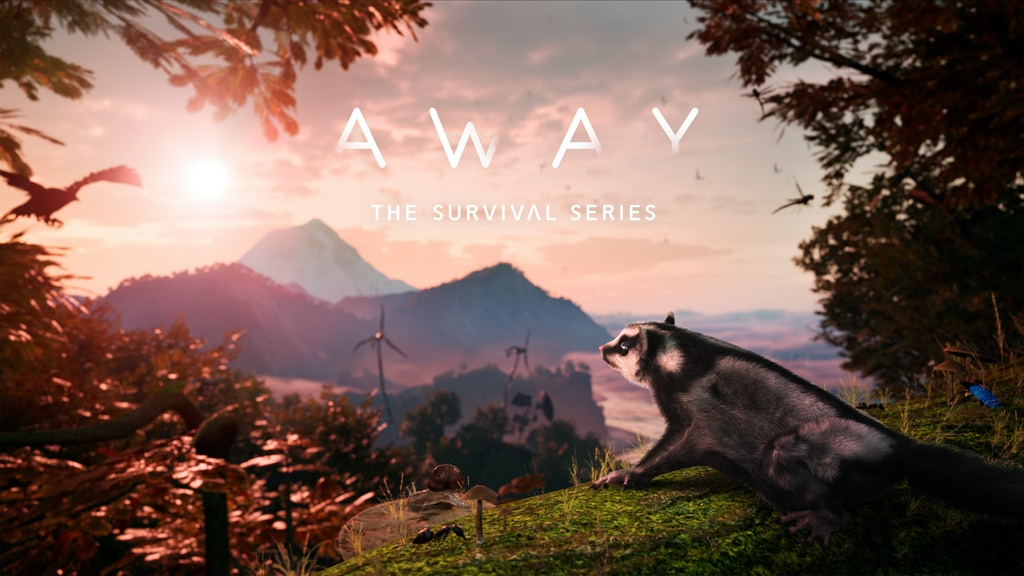 AWAY: The Survival Series - An animal adventure game project video thumbnail