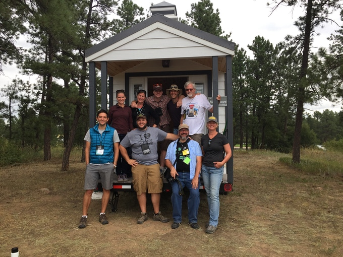 Tiny house writers gather at the 2016 Tiny House Jamboree in Colorado Springs, CO