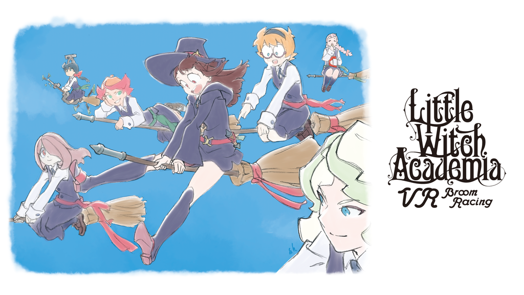 """Little Witch Academia: VR Broom Racing"" New VR Game Project project video thumbnail"