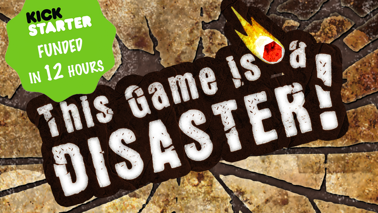 """This Game is a Disaster"" is a quick and easy to learn 2-6 player game celebrating disaster movies and good, old-fashioned destruction."