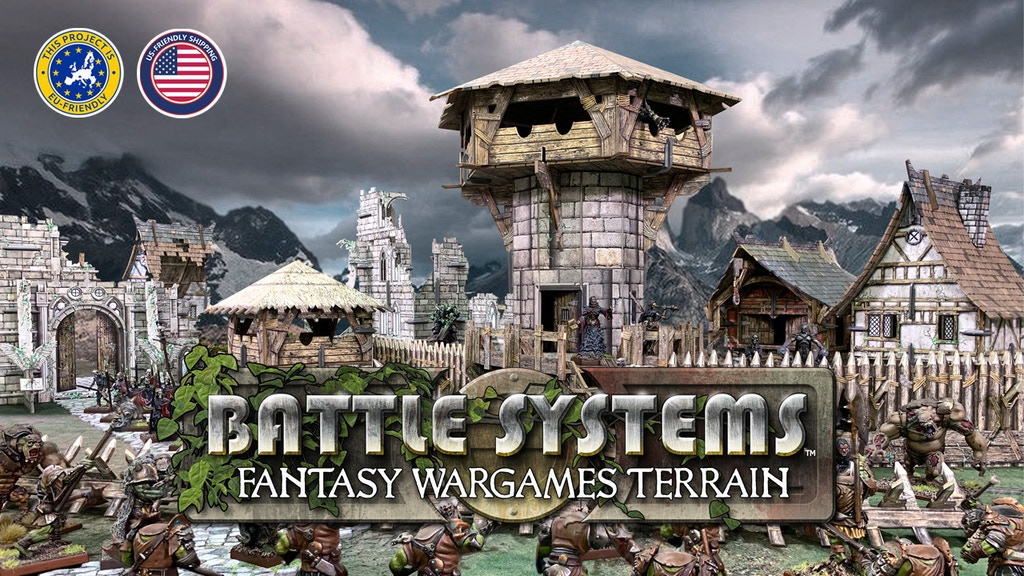 Fantasy Wargames Terrain from Battle Systems™ miniatura de video del proyecto