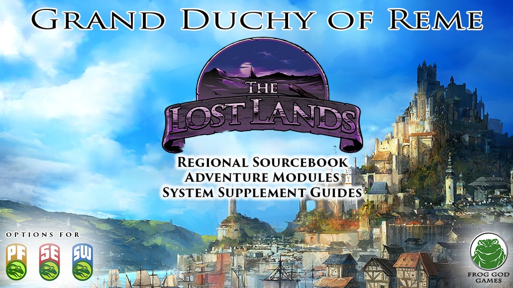 The Lost Lands - Grand Duchy of Reme project video thumbnail
