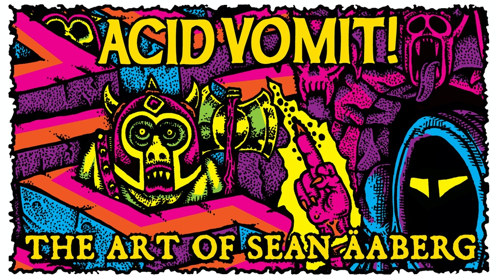 Acid Vomit! The Art of Sean Aaberg project video thumbnail