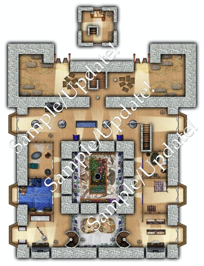 stable, upper floor