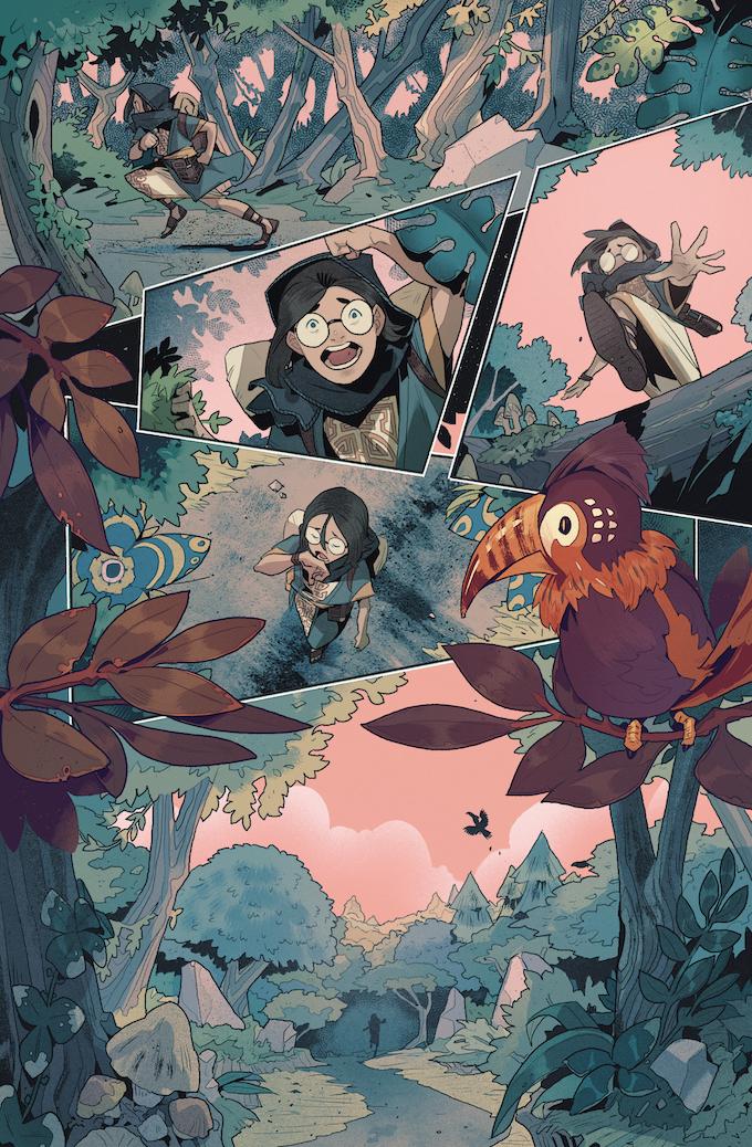 Beastlands #2, Page 1