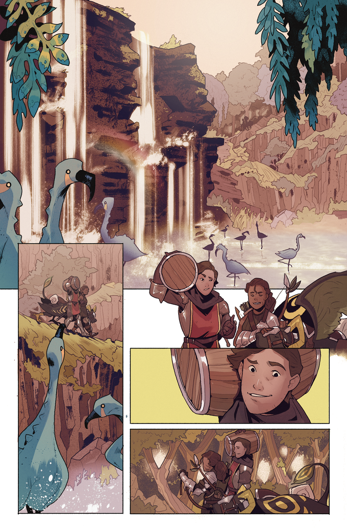 Beastlands #2, Page 2