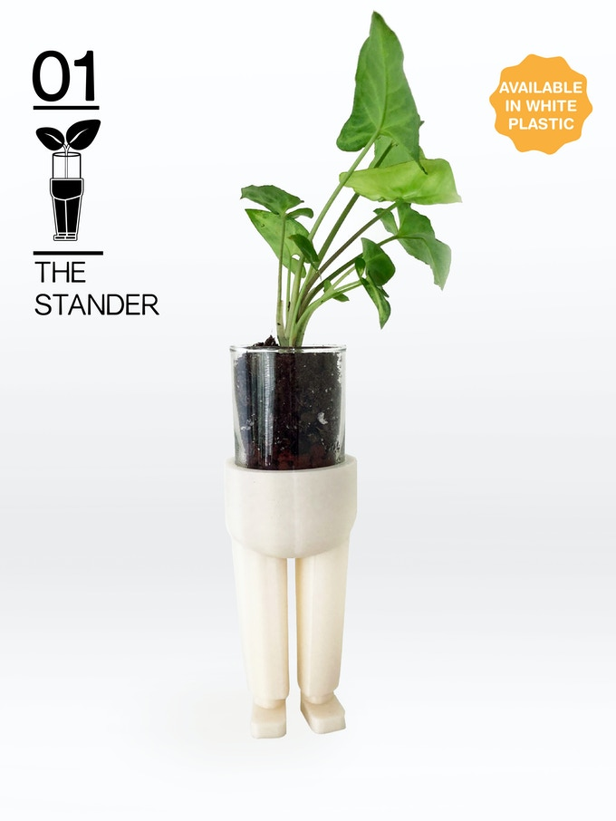 The original PlantPants! The Stander is timeless and refined, dilligenty standing tall.