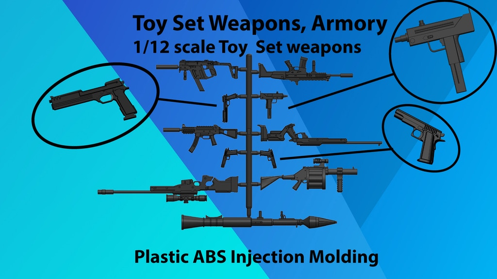 Project image for Toy Set Weapons, Armory (Canceled)