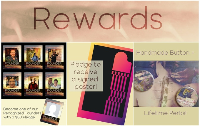 Check out our Pledge Rewards!