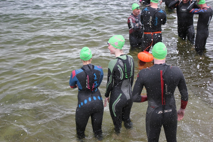 Tekrapods at the Channelcup Swim, Streamlined, Seamless Safety