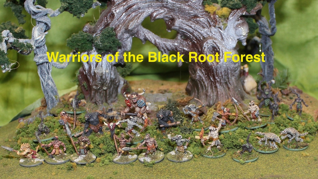 Project image for Warriors of the Black Root Forest