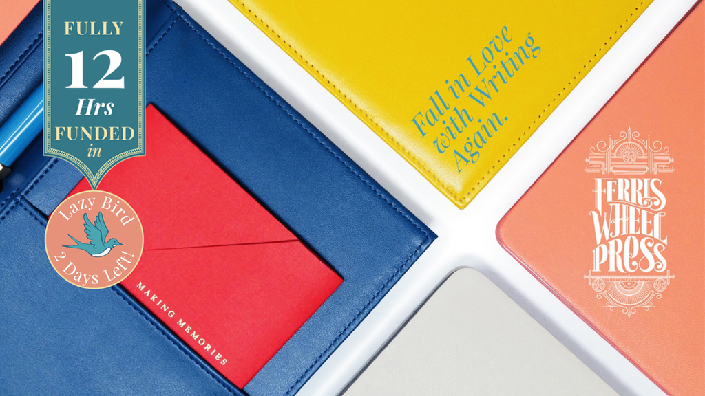 The Always Right & Nothing Left Notebook Collection by FWP project video thumbnail