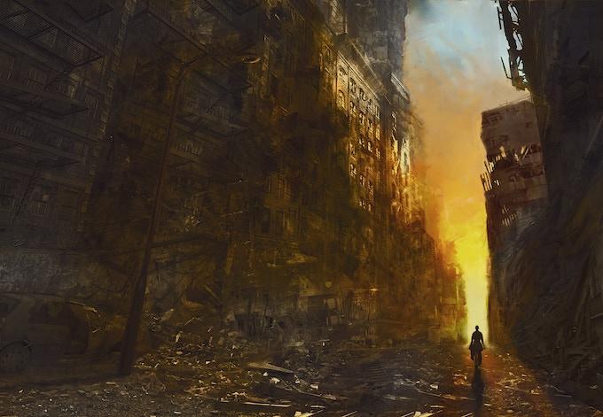"""Apocalyptic"" by Justin Adams of Varia Studios"