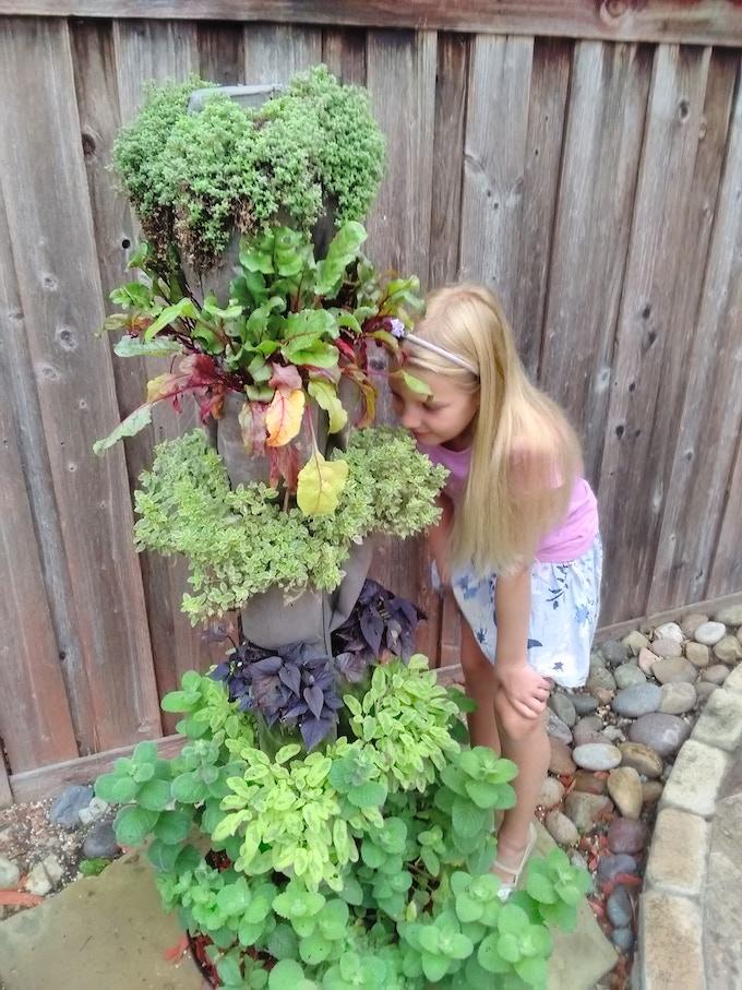 Kate in the Garden