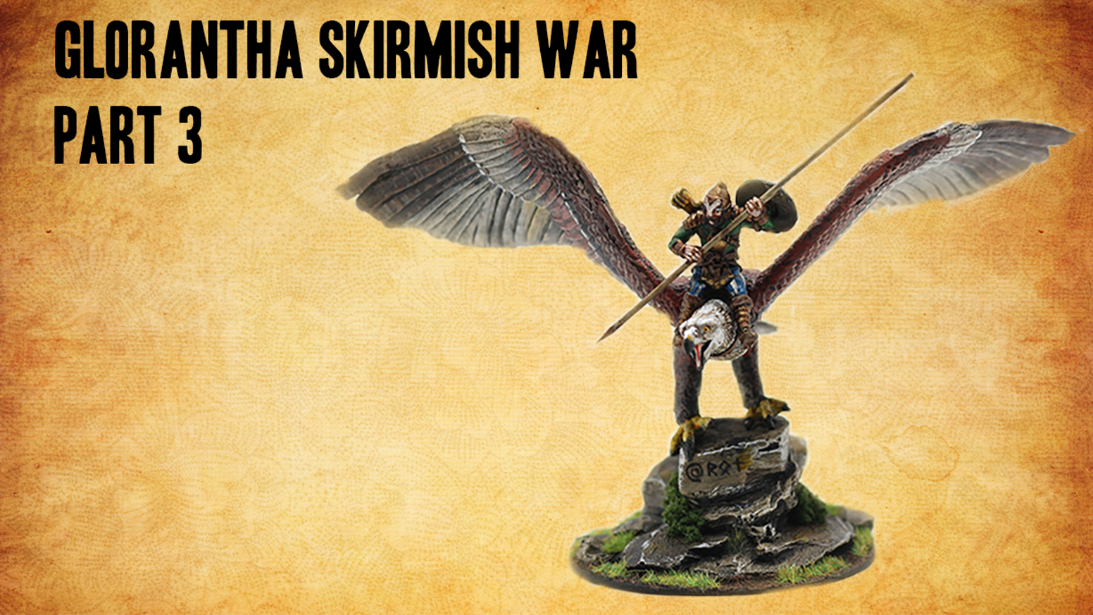 28 mm Licenced Glorantha Miniatures, Axe Sisters, Lasdag Lions and Balazar Big Bird