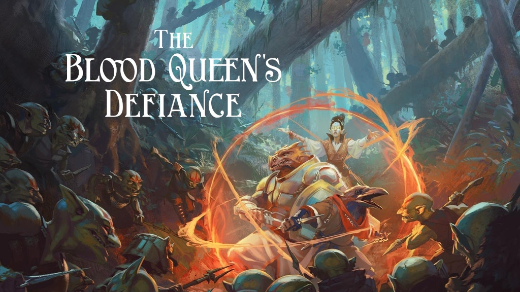 The Blood Queen's Defiance project video thumbnail