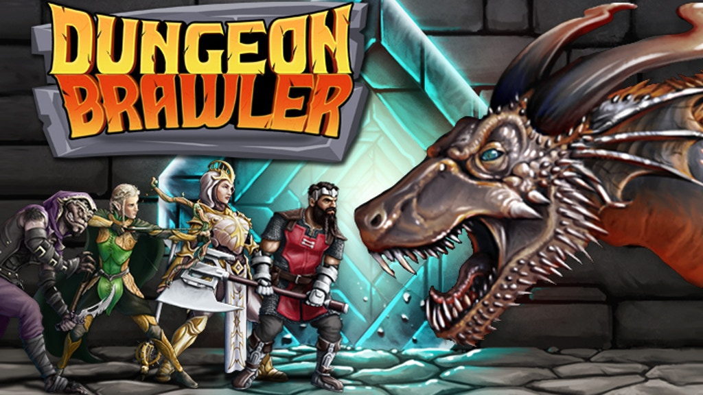 Dungeon Brawler project video thumbnail