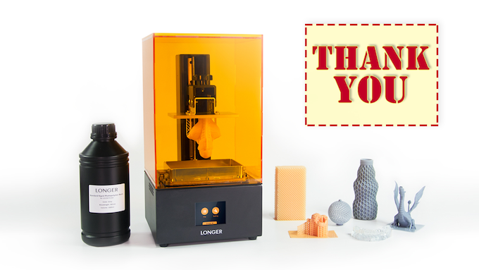 Longer: Reliable & Most Affordable Desktop SLA 3D Printer by