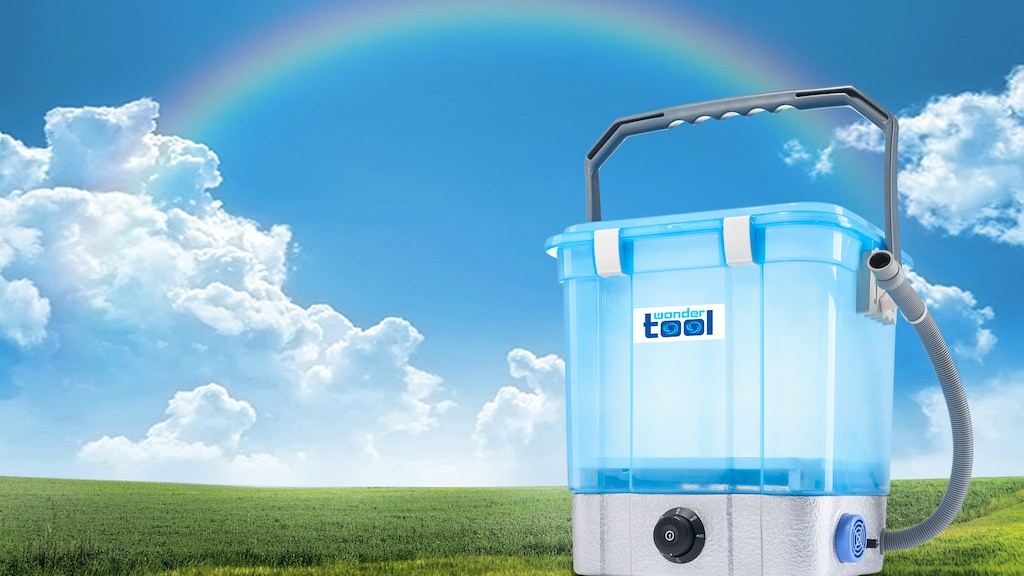 WONDERTOOL™- All in one - Portable Washer & Cleaner w/ Ozone project video thumbnail
