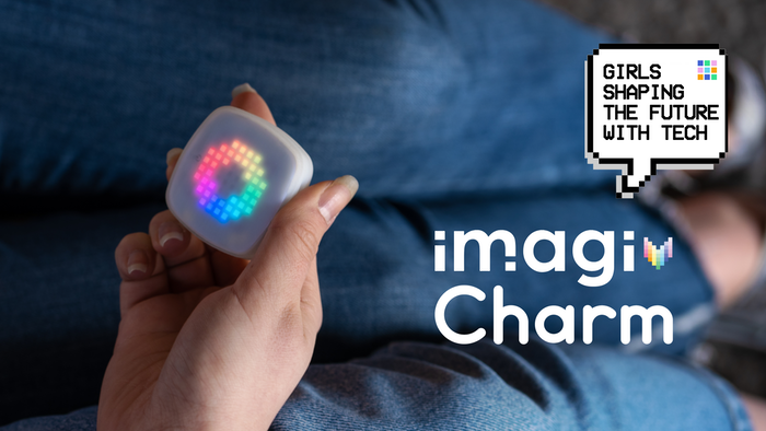 Create with code, wear your designs on the imagiCharm and share your projects in our community �