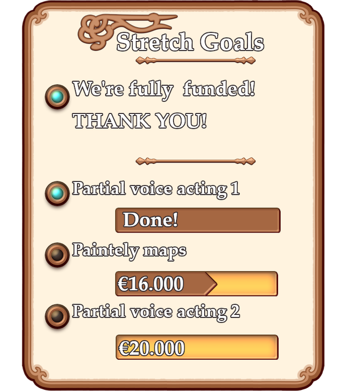 Check out the campaign's stretch goals!