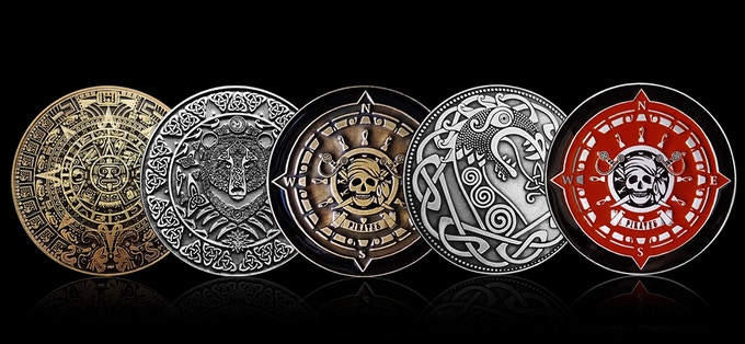 Premium Enamelled Coin Collection