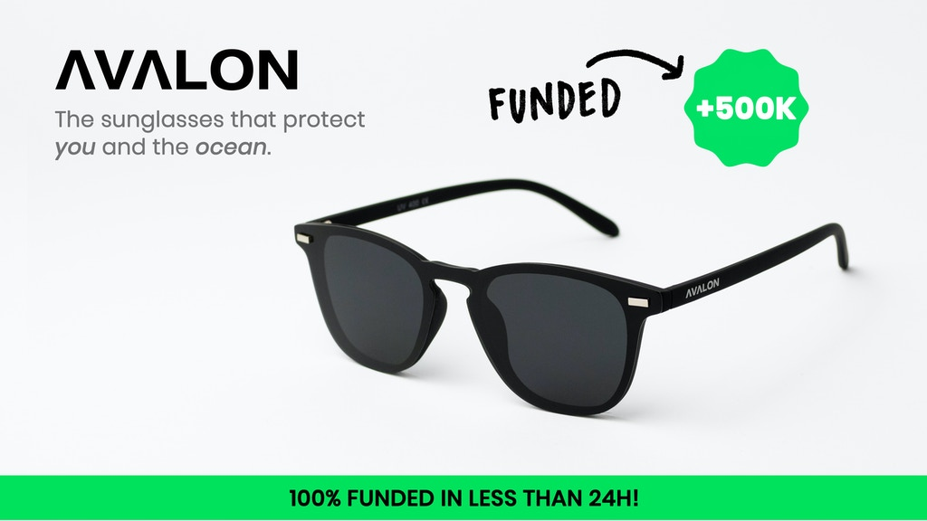AVALON - The world's best Eco-Friendly sunglasses project video thumbnail
