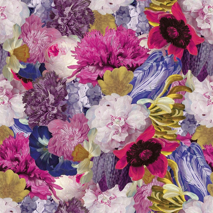 Fancy living wall series - floral shock edition
