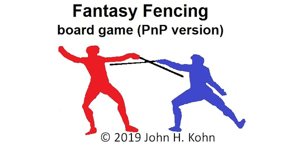 Fantasy Fencing board game (PnP version) project video thumbnail