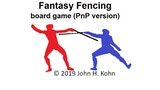 Fantasy Fencing board game (PnP version) thumbnail