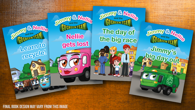 Jimmy & Nellie Story Books